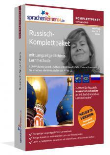 Sprachkurs Russisch lernen Komplettpaket auf DVD