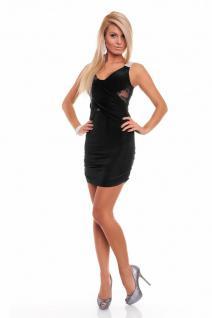 elegantes schwarzes kleid mit spitze kaufen bei click shop24. Black Bedroom Furniture Sets. Home Design Ideas