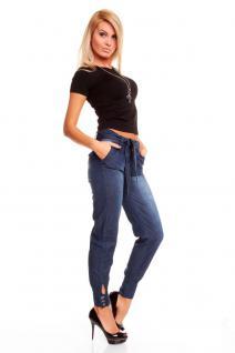 Trendy Jeans Hose In Blau Denim - Vorschau 2