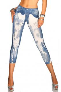 Jeans-print-leggings - Vorschau 3