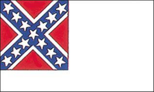 Flagge Fahne 2nd Confederate 90 x 150 cm - Vorschau