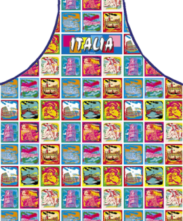 Schürze Italien Italia Style 56 x 73 cm