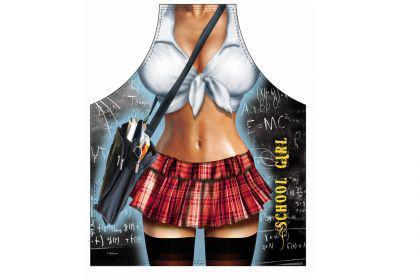 Schürze School Girl 56 x 73 cm