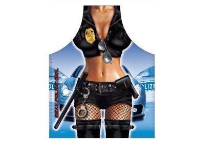 Schürze Police Girl 56 x 73 cm
