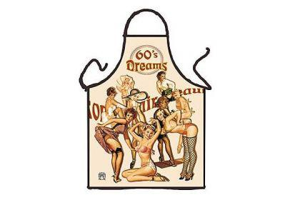 Schürze 60's Dreams 56 x 73 cm