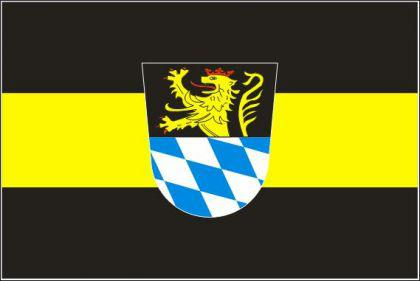 Flagge Fahne Amberg 90 x 150 cm - Vorschau