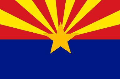 Flagge Fahne Arizona 90 x 150 cm - Vorschau