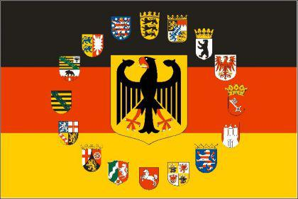 Flagge Fahne Deutschland Adler 16 B. 90 x 150 cm