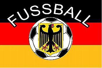 Flagge Fahne Deutschland Fussball 90 x 150 cm