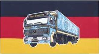 Flagge Fahne Deutschland Mercedes LKW 90 x 150 cm