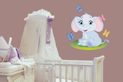 Wandtattoo Babyfant Motiv Nr. 2