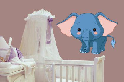 Wandtattoo Babyfant Motiv Nr. 4