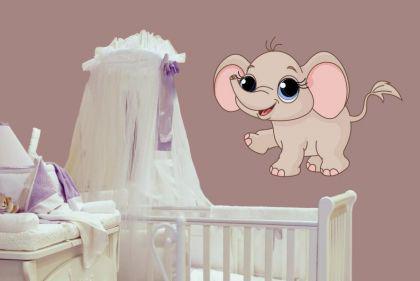 Wandtattoo Babyfant Motiv Nr. 6