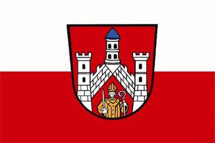 Flagge Fahne Bad Neustadt an der Saale 90 x 150 cm - Vorschau
