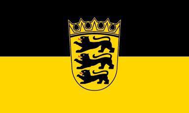 Flagge Fahne Baden-Württemberg 90 x 150 cm