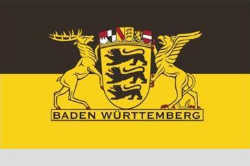 Flagge Fahne B W Landessiegel 90 x 150 cm - Vorschau