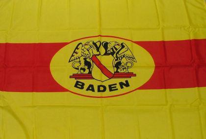 Flagge Fahne Baden mit Wappen 90 x 150 cm - Vorschau