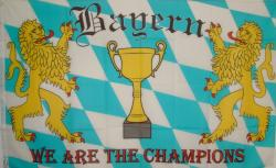 Flagge Fahne Bayern We are the Champ. 90 x 150 cm