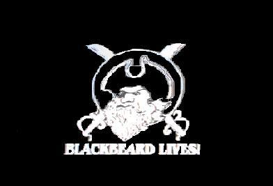 Flagge Fahne Blackbeard lives 90 x 150 cm - Vorschau