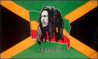 Flagge Fahne Bob Marley 90 x 150 cm - Vorschau