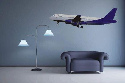 Wandtattoo Boeing 767 Color Motiv Nr. 1