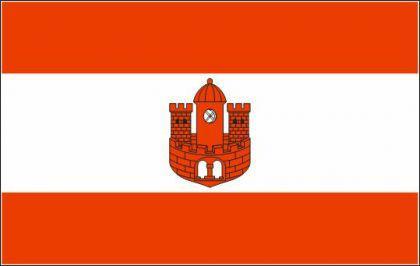 Flagge Fahne Borken 90 x 150 cm - Vorschau