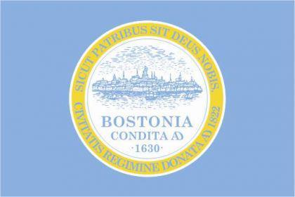 Flagge Fahne Boston 90 x 150 cm - Vorschau