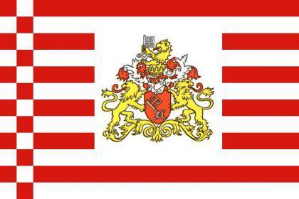 Flagge Fahne Bremen Flaggen Wappen 90 x 150 cm - Vorschau