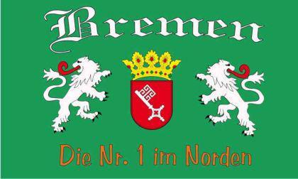 Flagge Fahne Bremen Nr. 1 90 x 150 cm - Vorschau