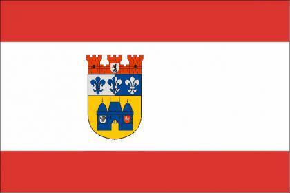 Flagge Fahne Charlottenb.-Wilmersdorf 90 x 150 cm - Vorschau