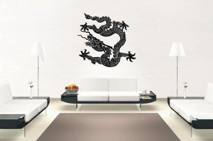Wandtattoo Chinesischer Drachen