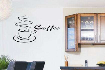 Wandtattoo Coffee Motiv Nr. 1