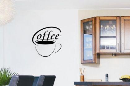 Wandtattoo Coffee Motiv Nr. 3