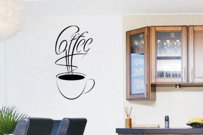 Wandtattoo Coffee Motiv Nr. 4
