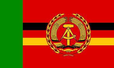 Flagge Fahne DDR Grenzbrigade Küste 90 x 150 cm - Vorschau