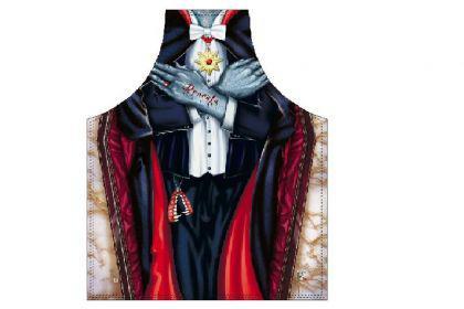 Schürze Vampir Dracula 56 x 73 cm