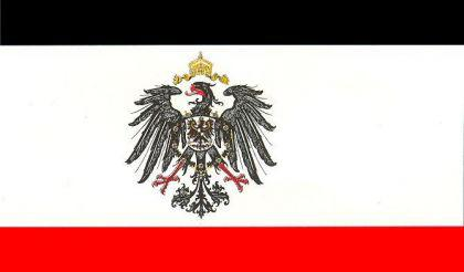 Flagge Fahne Kaiserreich mit Adler 90 x 150 cm - Vorschau