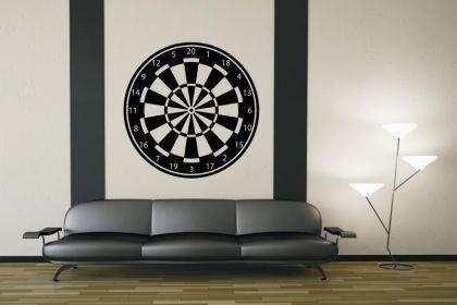 Wandtattoo Dartboard