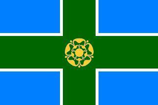 Flagge Fahne Derbyshire 90 x 150 cm - Vorschau