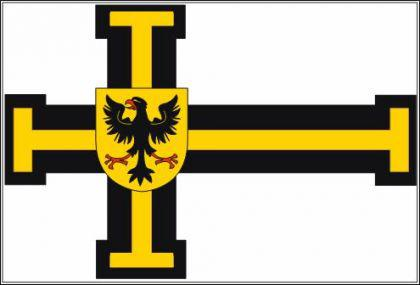 Flagge Fahne Deutscher Orden Hochm. 90 x 150 cm - Vorschau