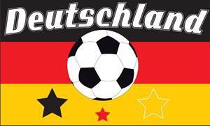Flagge Fahne Deutschland Fan 14 90 x 150 cm