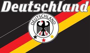 Flagge Fahne Deutschland Fan 9 90 x 150 cm - Vorschau