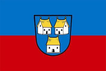 Flagge Fahne Dorfen 90 x 150 cm - Vorschau