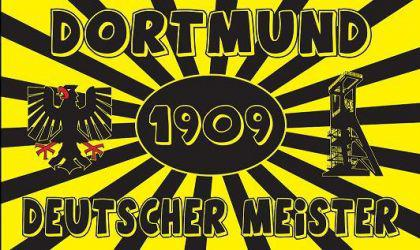 Flagge Fahne Dortmund d. Meister 90 x 150 cm - Vorschau