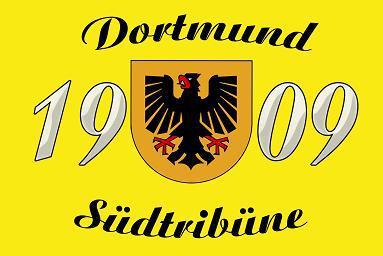 Flagge Fahne Dortmund Südtribüne 90 x 150 cm