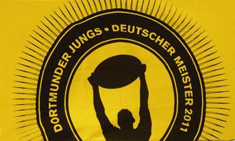 Flagge Fahne Dortmunder Jungs 90 x 150 cm