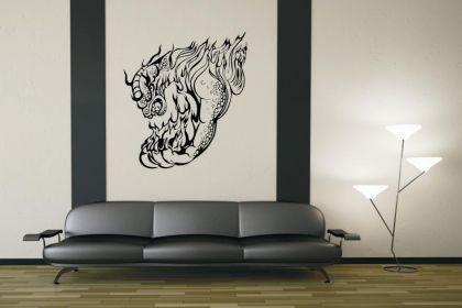 Wandtattoo Dragon Motiv Nr. 14 - Vorschau 1