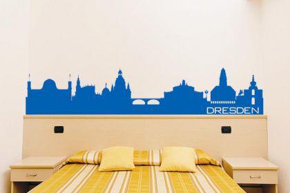 Wandtattoo Dresden Skyline