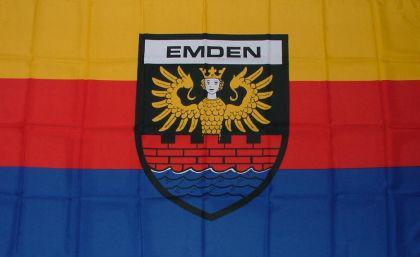 Flagge Fahne Emden 90 x 150 cm - Vorschau