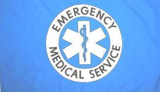 Flagge Fahne Emergency Medical Service 90 x 150 cm